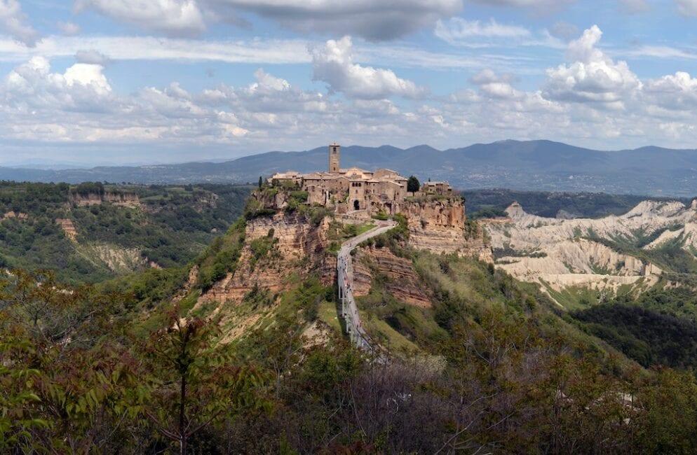 Orvieto and Civita di Bagnoregio